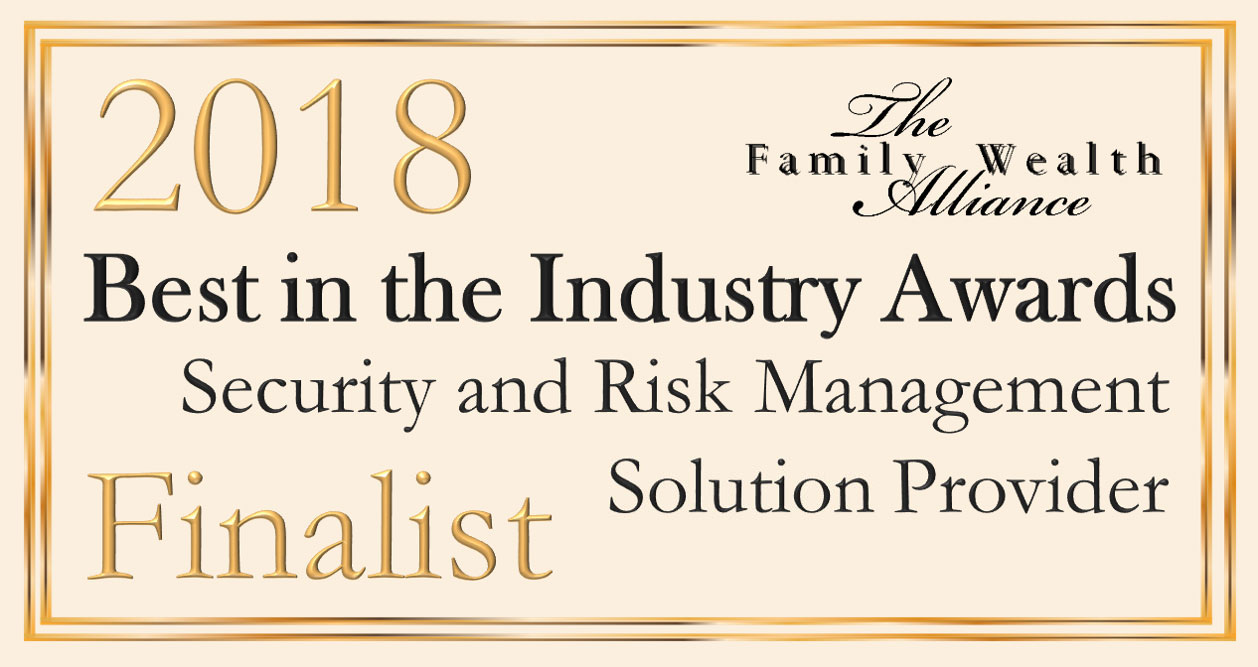 2018 Best in the Industry Award for: Security and Risk Management Solution / Provider Finalist