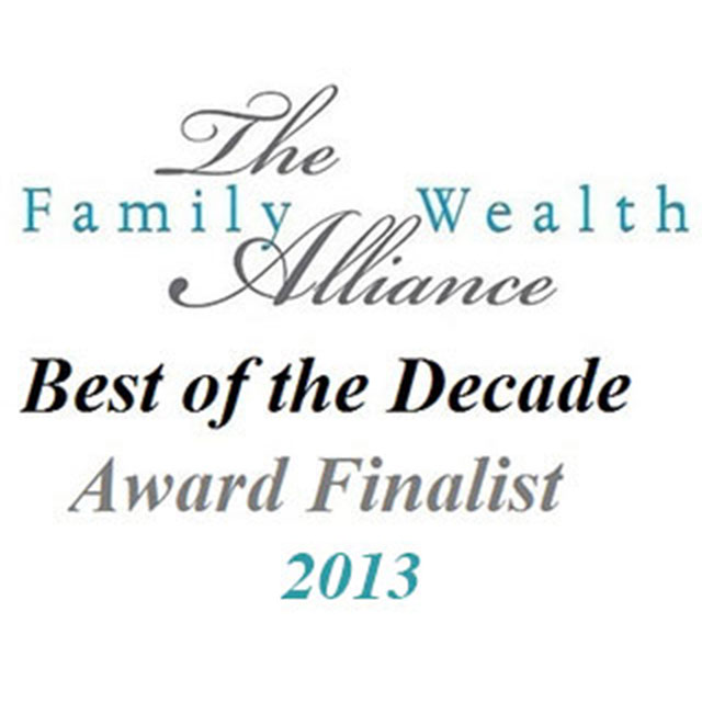 Family Wealth Alliance Best of the Decade Award Finalist